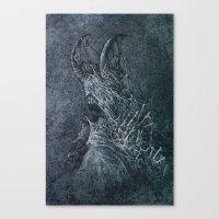 devil Canvas Prints featuring Devil by Maciej Kamuda