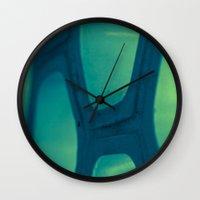honeycomb Wall Clocks featuring Honeycomb by Dana E