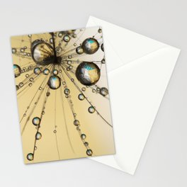 Single Dandy Seed Web Drops Stationery Cards