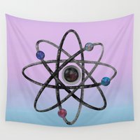 physics Wall Tapestries featuring Physics by IvanaW