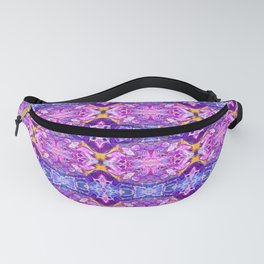 Purple Treasure Kaleidoscope Fanny Pack