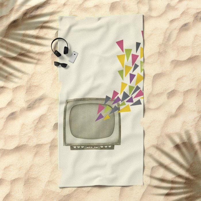 Transmission Beach Towel