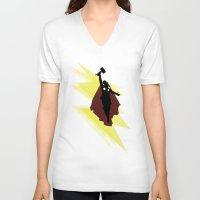 flight V-neck T-shirts featuring Flight by Digital Sketch