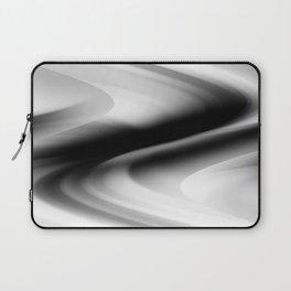 DREAM PATH (Black, Grays & White) Laptop Sleeve