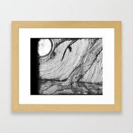 disappearance Framed Art Print