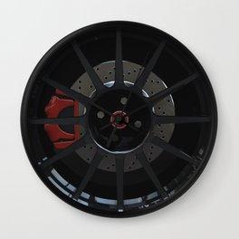 500 Abarth Wheel Wall Clock