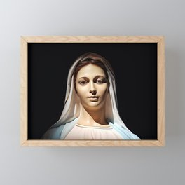 Our Lady of Tihaljina (Our Lady of Grace): In the Sun Light Framed Mini Art Print