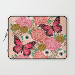 Monarch Florals by Andrea Lauren  Laptop Sleeve