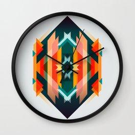 Broken Diamond - Incalescence Wall Clock