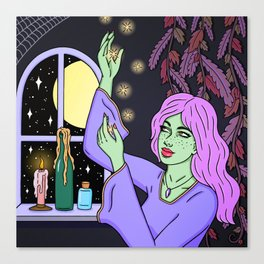 WITCHING HOUR Canvas Print