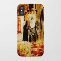 england iPhone & iPod Cases featuring England Vintage  by Joe Ganech