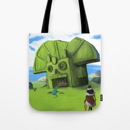 The Wastelands Godhead rest stop Tote Bag