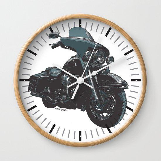 HARLEY ROADKING MOTORCYCLE Wall Clock