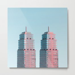 Penthouse Twins Metal Print