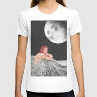 blanket T-shirts featuring Moon Blanket by Sophie Le