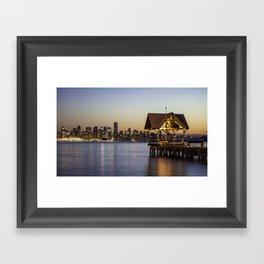 Vancouver, BC Framed Art Print