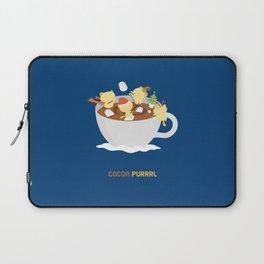 Kitty Cocoa Purrrl Laptop Sleeve