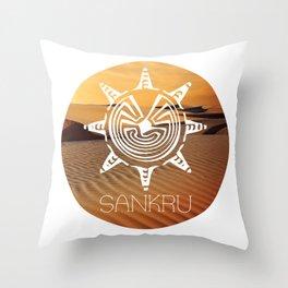 Sankru - The 100 Throw Pillow