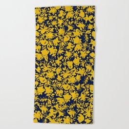 Summer Bloom Beach Towel