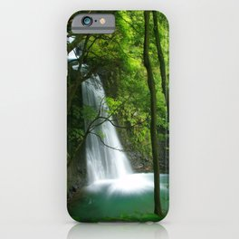 Waterfall in the Azores iPhone Case