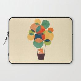Whimsical Hot Air Balloon Laptop Sleeve