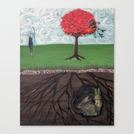 Killer of Innocence Canvas Print