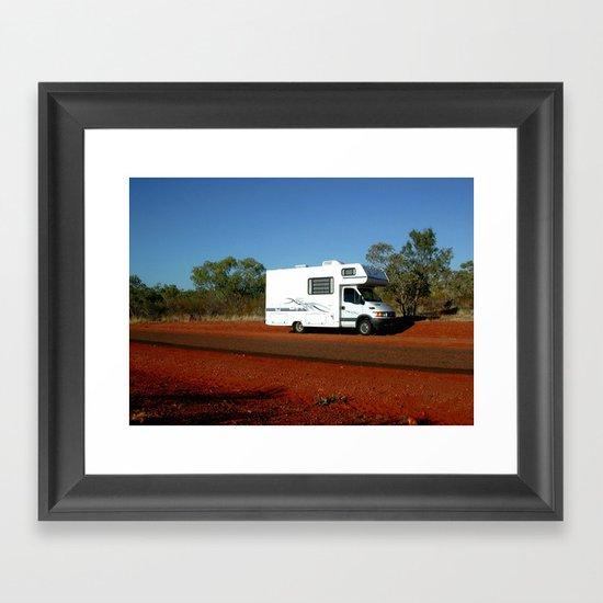 Stuck in the Desert Framed Art Print