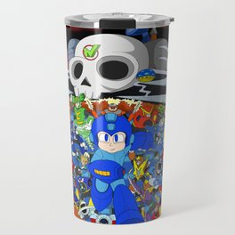 Fight Mega Man, For Everlasting Peace! Travel Mug