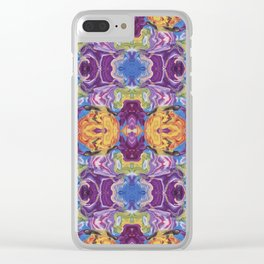 Florid Oasis Clear iPhone Case