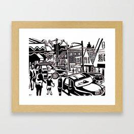 The Maine I Remember Framed Art Print