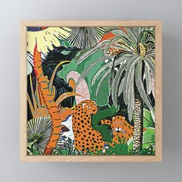 In the mighty jungle Framed Mini Art Print