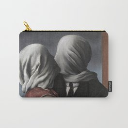 The Lovers II (Les Amants) 1928, Artwork Rene Magritte For Prints, Posters, Shirts, Bags Men Women K Carry-All Pouch
