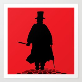 Jack The Ripper Art Print