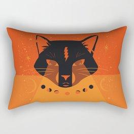 Black Cat Mystic Oracle Rectangular Pillow