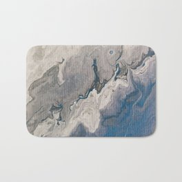 Blue Skies are coming Bath Mat