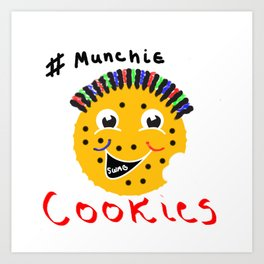 #munchies series Art Print