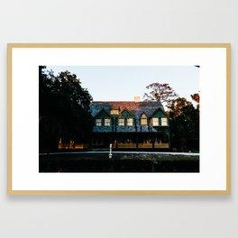Moss Cottage Framed Art Print