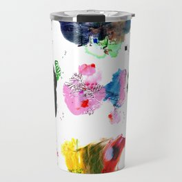 9 abstract rituals (2) Travel Mug