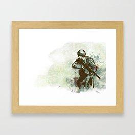 Memorial Day Framed Art Print