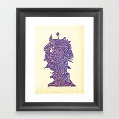 - ex femina - Framed Art Print