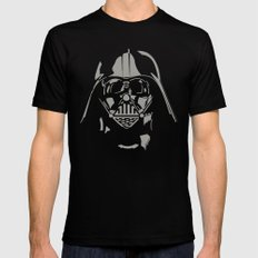 Vader Black LARGE Mens Fitted Tee