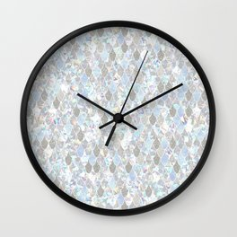 Holographic Mermaid Wall Clock