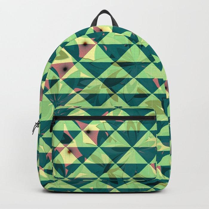 Vegetation-triangles Backpack