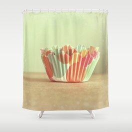 I Dream of Cupcakes Shower Curtain