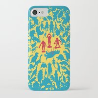 marx iPhone & iPod Cases featuring Hunted! by Ivan Guerrero