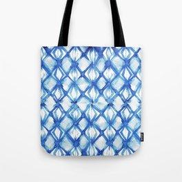 Nautical mermaid scales Tote Bag