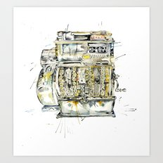 Cash In Art Print