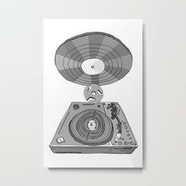 Jx3 Music Series - ONE Metal Print