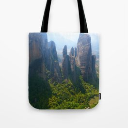 Meditation up to Meteora | Greece | Nature Tote Bag