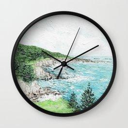 Timber Cove Wall Clock